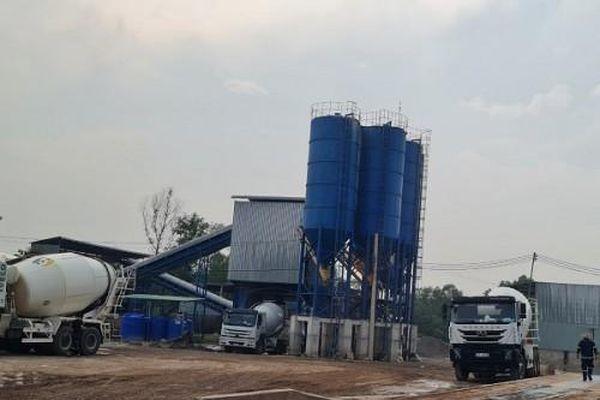 Lộc An (Đồng Nai): Trạm trộn bê tông ngang nhiên 'mọc' trên đất nông nghiệp?