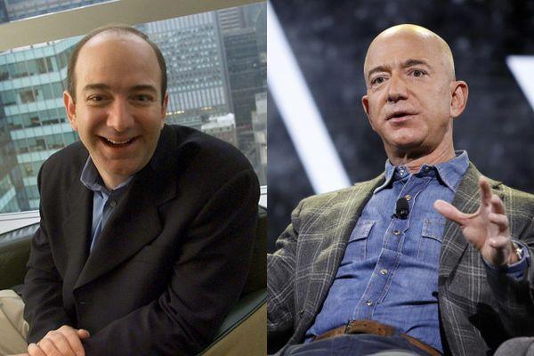Quá trình thay đổi phong cách của tỷ phú Jeff Bezos