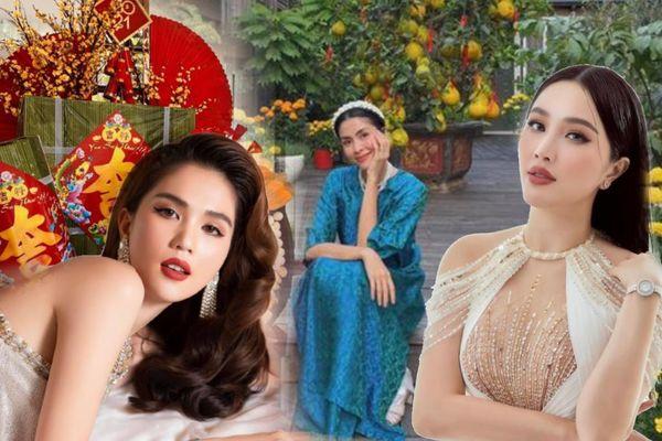 Sao Việt trang trí nhà cửa đón Tết: Ngọc Trinh - Bảo Thy chơi trội, Hà Tăng đơn giản nhưng vẫn 'xịn xò'