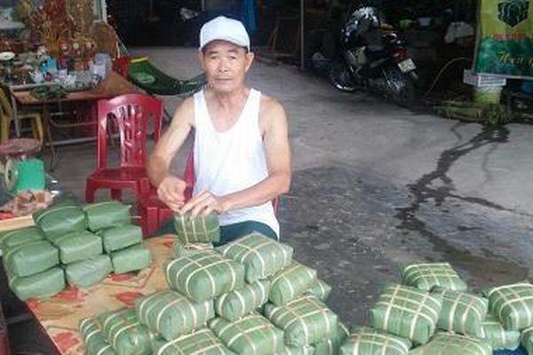 Lên xứ Thái nếm bánh chưng Bờ Đậu