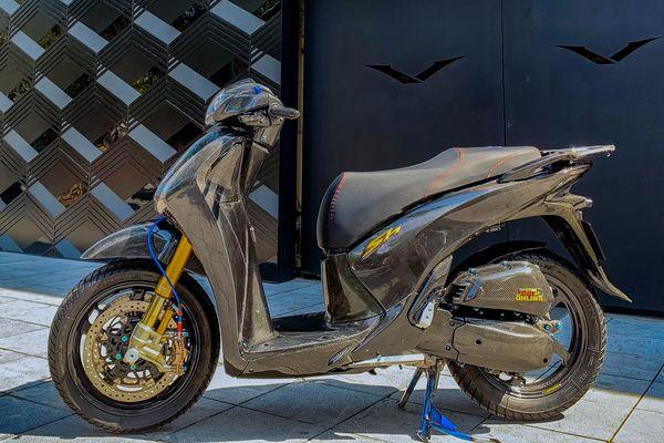 Honda SH với gói độ 700 triệu đồng ở Hà Nội