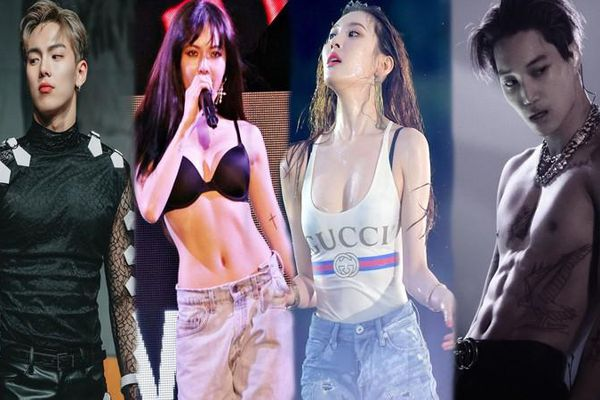 Những thần tượng sở hữu hình thể nóng bỏng nhất K-pop năm 2021