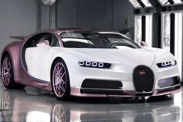 'Chồng người ta' mua siêu xe Bugatti Chiron Sport hồng độc nhất vô nhị tặng vợ nhân Valentine
