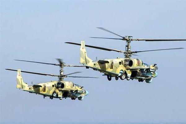 Ukraine lo ngại khi Nga đưa trực thăng Ka-52 tới vùng Rostov
