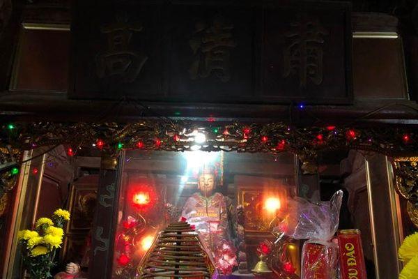 Vĩnh Phúc: Đầu năm thăm đền Bạch (Sông Lô)