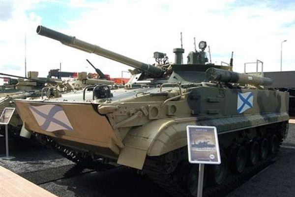 BMP-3F là chiến xa tốt nhất cho lính thủy đánh bộ