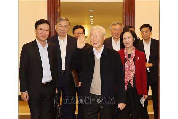 Bộ Chính trị, Ban Bí thư họp bàn, quyết định một số vấn đề quan trọng