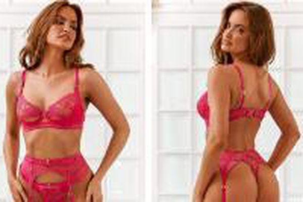 Siêu mẫu áo tắm Haley Kalil 'thiêu đốt' ánh nhìn với nội y Valentine