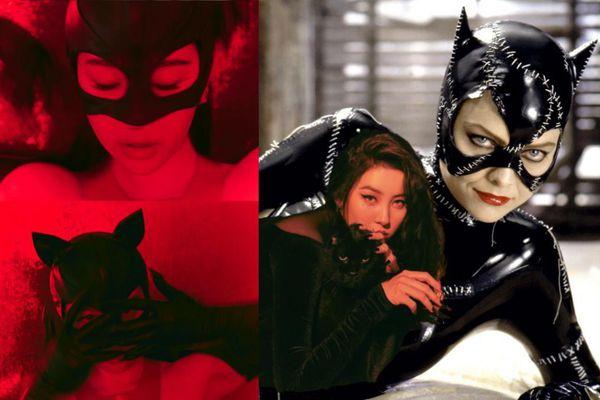 Sunmi bất ngờ hóa miêu nữ, fan tưởng vai Catwoman trong 'The Batman'