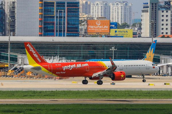 Hãng hàng không Vietjet đứng thứ hai về thị phần hành khách Thái Lan năm 2020