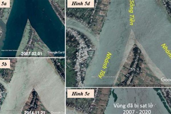 Sông Tiền từ Cù lao Long Khánh đến Cù lao Tây