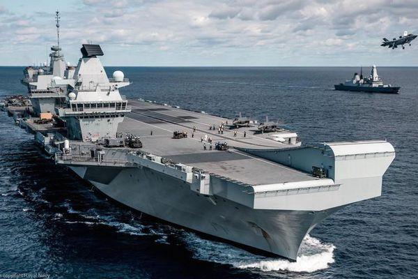 Tàu sân bay Anh sắp tới biển Đông có khiến Trung Quốc lo sợ?