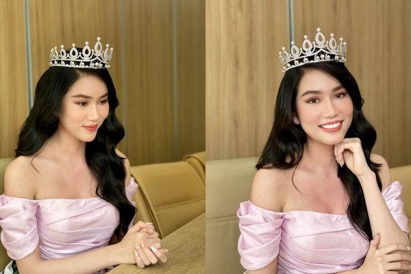 Tự tin livestream bằng tiếng Anh, Á hậu Phương Anh tạo ấn tượng tốt với GĐ Truyền thông Miss International
