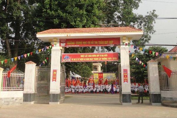 Thầy giáo ở Nghệ An phủ nhận tát học sinh 15 cái