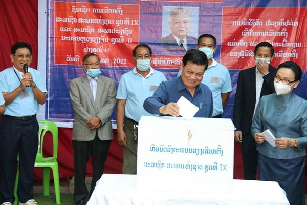 Lào tiến hành bầu cử Quốc hội khóa IX