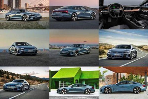 Audi e-tron GT 2021 mới từ hơn 2 tỷ đồng, tăng tốc ngang siêu xe