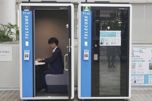 Khám phá văn phòng làm việc 'dã chiến' đặc biệt của người Nhật