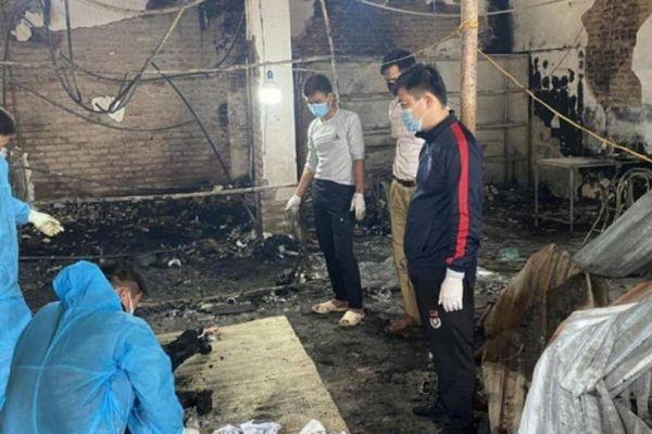 Bắc Giang: Nhà phát hỏa lúc nửa đêm, nghi chủ nhà chết cháy bên trong
