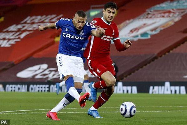 TRỰC TIẾP Liverpool 0 - 1 Everton: Cú sốc ở Anfield