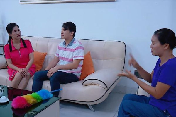 Nhân vật Đào Vân Anh bị người giúp việc mỉa mai vì lật mặt
