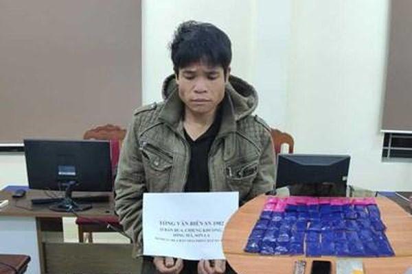 Bắt 'trùm' ma túy ở Sông Mã, thu 1 bánh heroin, 12.000 viên ma túy