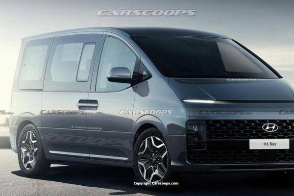 Lộ diện Hyundai Starex 2022 trên đường thử