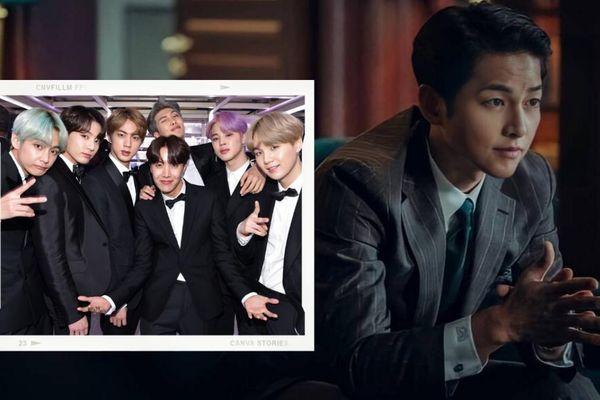 BTS bất ngờ làm cameo trong phim mới của Song Jong Ki