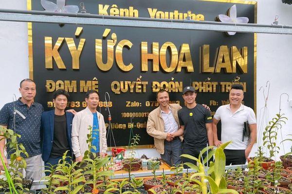 Đỗ Việt Đức - Từ chàng công nhân đến doanh nhân trồng lan thu nhập hàng tỉ đồng