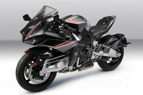 Chi tiết Bimota Tesi H2 Carbon Edition - bản sao của Kawasaki Ninja H2