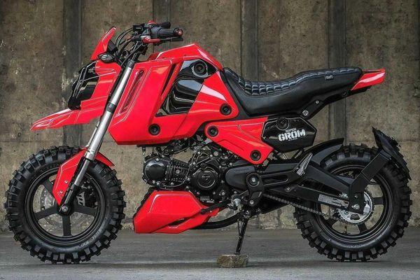 Honda MSX hầm hố với bản độ phong cách xe địa hình