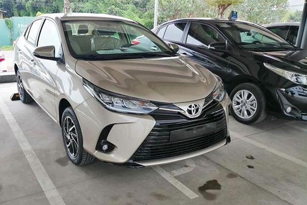 Cận cảnh Toyota Vios 2021 tại Việt Nam, tăng 10 triệu đồng?