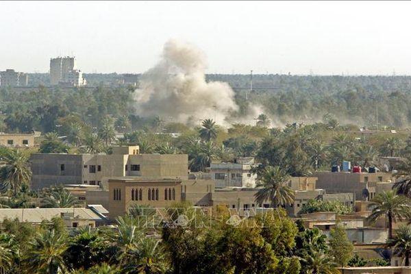 Iraq: Thủ đô Baghdad lại bị tấn công bằng tên lửa