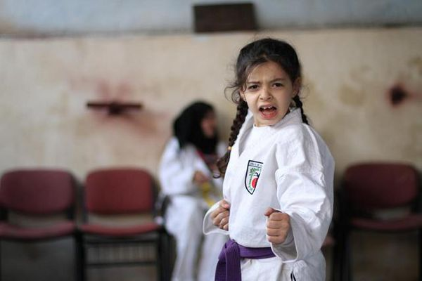 Bên trong trường dạy karate giúp trẻ hòa nhập tốt cộng đồng ở Syria