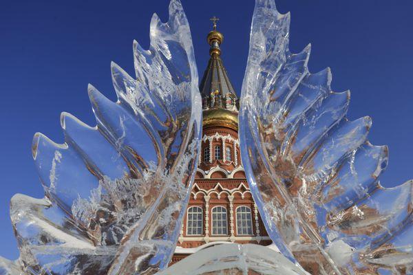 Festival điêu khắc băng - nét văn hóa đặc trưng của Cộng hòa Udmurtia