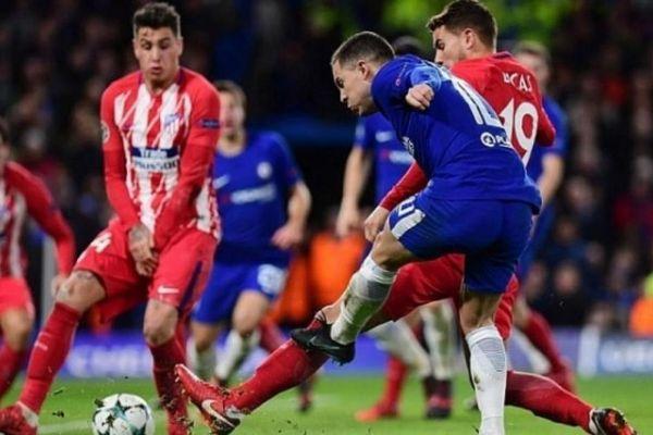 Kết quả trận Atletico Madrid vs Chelsea, vòng 1/8 Champions League