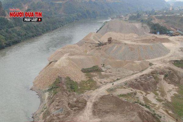 Lào Cai: Cơ quan chức năng buông lỏng quản lý, doanh nghiệp 'móc ruột, bức tử' sông Hồng