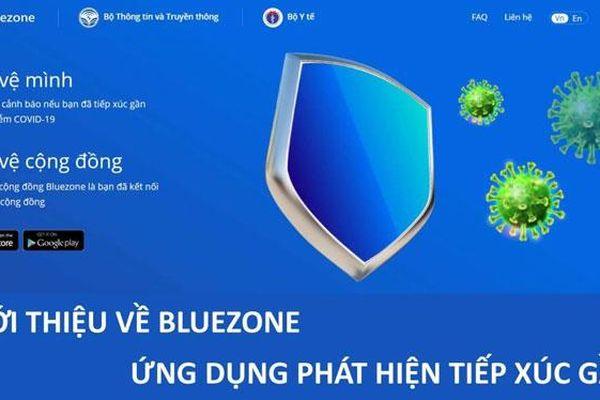 Hàng chục triệu bản tin tuyên truyền cài đặt Bluezone đã được gửi đi