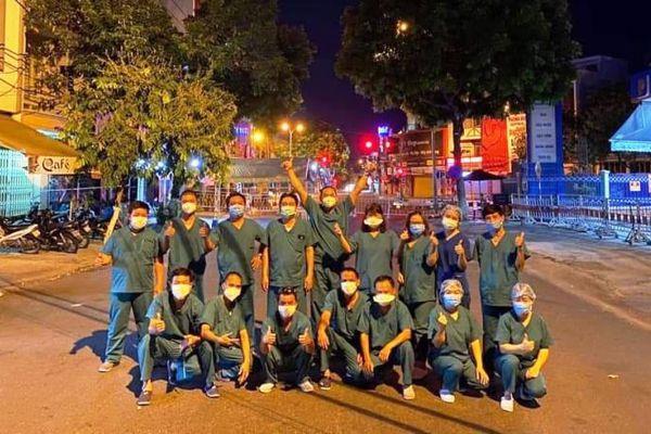 Gặp lại những chiến sĩ áo trắng ở Đà Nẵng
