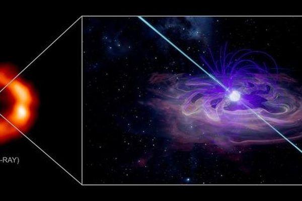 Vật thể khủng khiếp ra đời từ 'ngôi sao nổ' người Trái Đất chụp được năm 1987