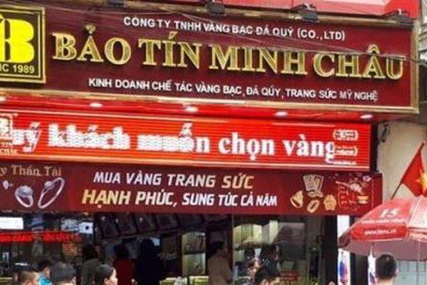 Bất ngờ về các khoản lỗ của đại gia vàng danh tiếng Bảo Tín Minh Châu