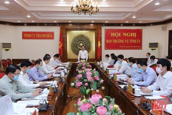 Ban Thường vụ Tỉnh ủy cho ý kiến vào Quy chế làm việc của Ban Chấp hành Đảng bộ tỉnh khóa XIX và một số nội dung quan trọng khác