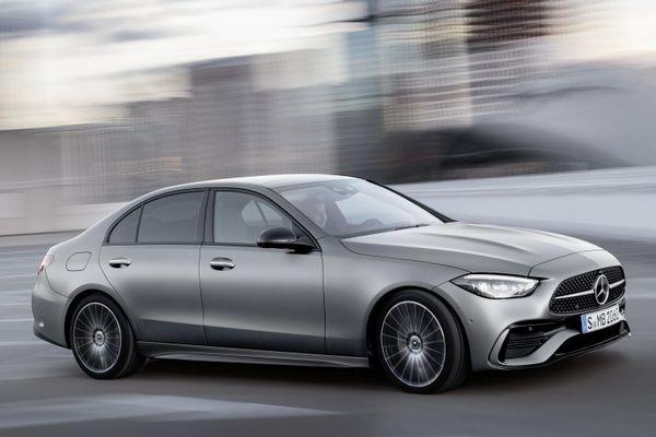 Mercedes-Benz C-Class thế hệ mới công bố các phiên bản toàn cầu: Mạnh nhất 600 mã lực