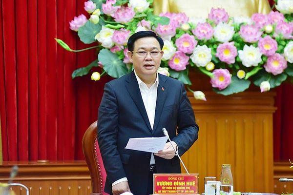 Bí thư Thành ủy Vương Đình Huệ: Hà Nội sẽ hỗ trợ, tạo điều kiện để giải quyết quy hoạch, xây dựng trụ sở Bộ Công an