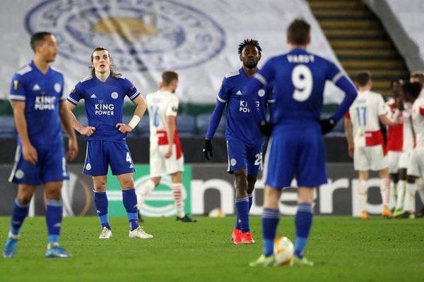 Thua sốc trước đội bóng 'dưới cơ', Leicester dừng bước ở Europa League