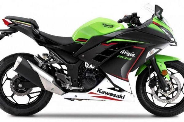 Kawasaki Ninja 300 2021 ra mắt với màu phối KRT mới nhất