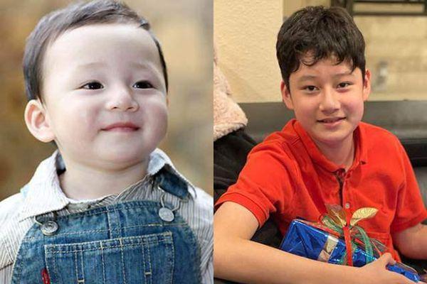 Con trai của Jennifer Phạm và Quang Dũng 13 tuổi đã cao hơn mẹ