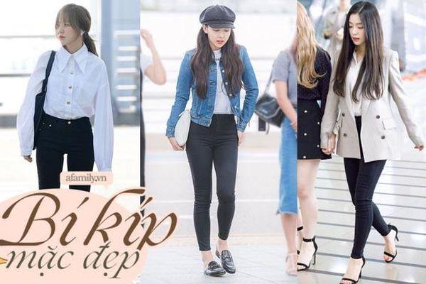 12 cách mix khiến quần skinny đen nhạt nhẽo xịn hết chỗ chê của sao Hàn