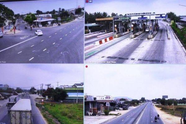 Hàng nghìn lái xe dính phạt vì 'mắt thần' giám sát trên QL1 qua Bình Thuận