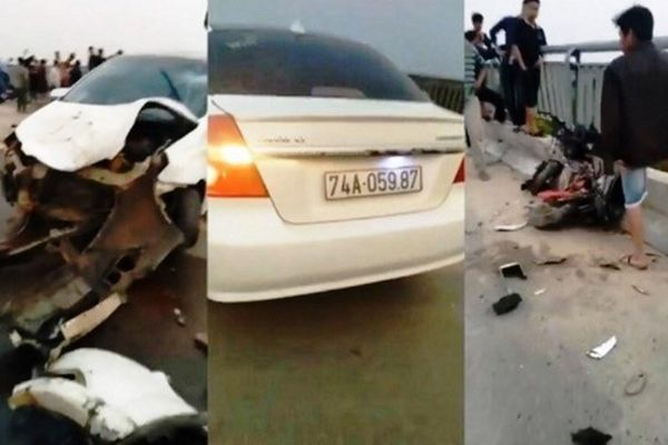 Tin mới nhất vụ ô tô trốn chốt đo nồng độ cồn gây tai nạn kinh hoàng ở Quảng Trị