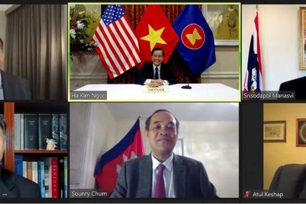 Hoa Kỳ cam kết tăng cường hợp tác với tiểu vùng Mekong